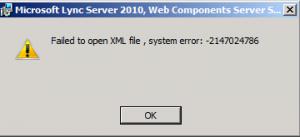KB2493736 Error